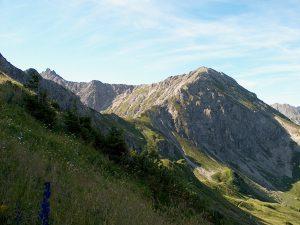 Hammerspitze im Kleinwalsertal