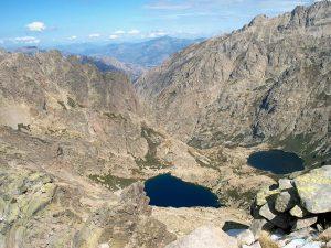 Melo und Capitello Seen auf Korsika