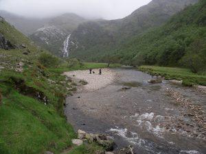 Glen Nevis Schlucht in Schottland