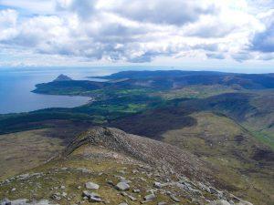 Tour auf den Goatfell auf der Schottischen Insel Arran