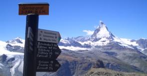 Blick auf das Matterhorn vom Gornergrad