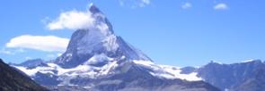 Das Matterhorn in Zermatt