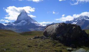 Besichtigungstour am Matterhorn