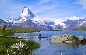 Seentour am Rothorn mit herrlicher Aussicht auf das Matterhorn