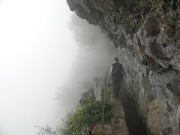 Nebelschwaden an der Lavada