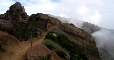 Weg zum Pico Ruivo