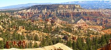 Panoramasicht auf den Bryce Canyon