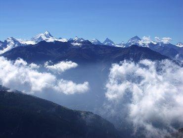 Das Schweizer Wallis