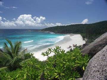 Grand Anse auf den Seychellen