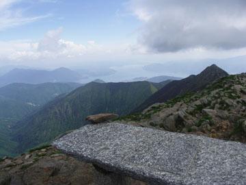 Bergpanorama am Monte Zeda