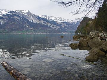 Der Brienzersee - Wie ein Fjord in Norwegen