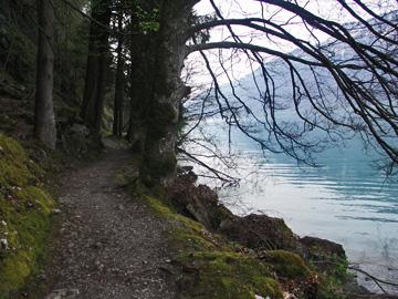 Wanderweg nach Iseltwald