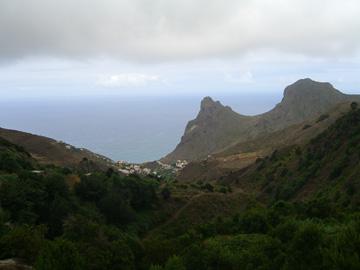 Blick über das Anaga Gebirge