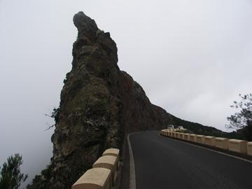 Straße im Anaga