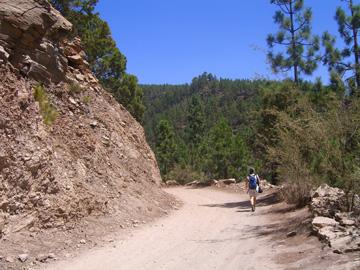 Wanderweg zur PaisajeLunar