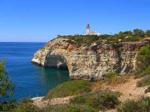 Küstenwanderung an der Algarve zum Farol de Alfanzina