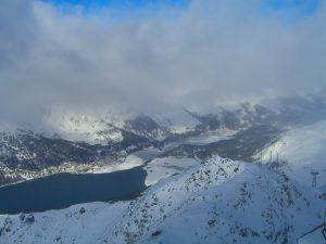 Schneewanderung von St. Moritz zum Corvatsch