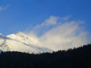 Schneewanderung zum Lej da Staz in St. Moritz