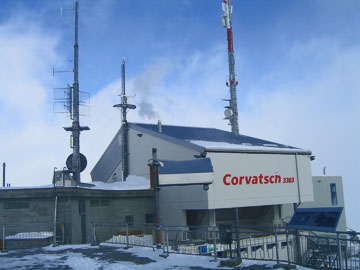 Bergstation des Corvatsch