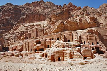 Die verlassene Felsenstadt