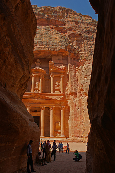 Die Schatzkammer von Petra