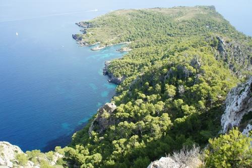 Aussicht vom Penya Roja