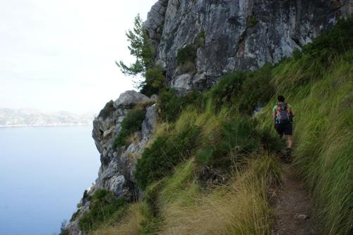 Weg zum Penya Roja (354 m)