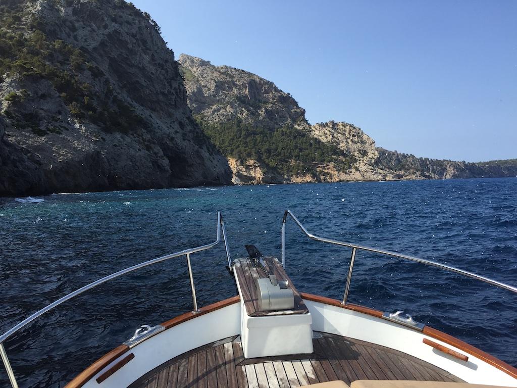 Bootsfahrt auf Mallorca