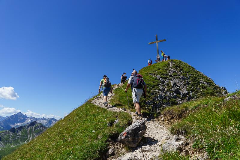 Der Gipfel der Schochenspitze