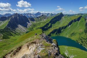 Bergwanderung zur Schochenspitze im Tannheimer Tal