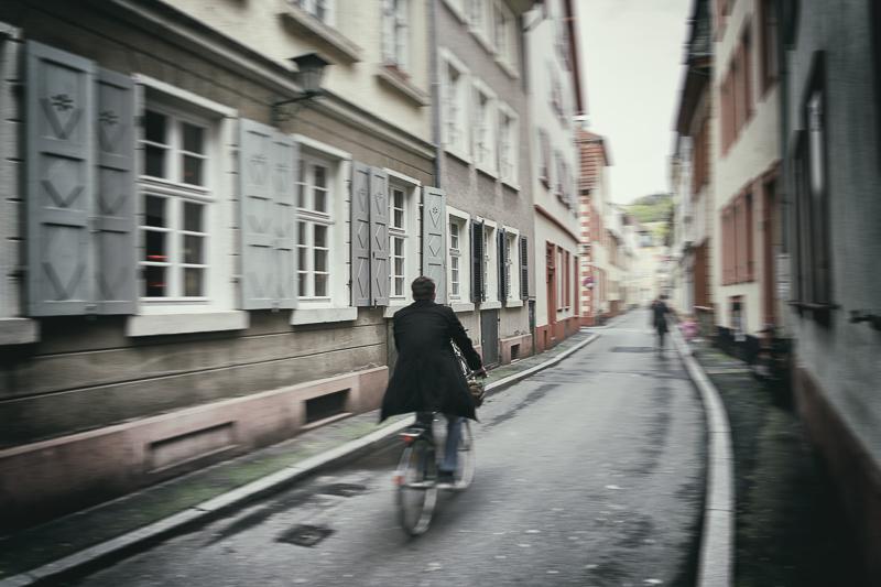 Radler in der Altstadt