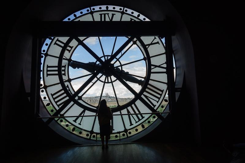 Uhr im Musée d'Orsay