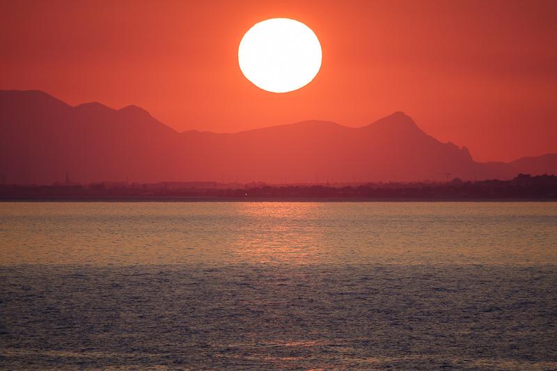 Sonnenuntergang in Torre del Stelle
