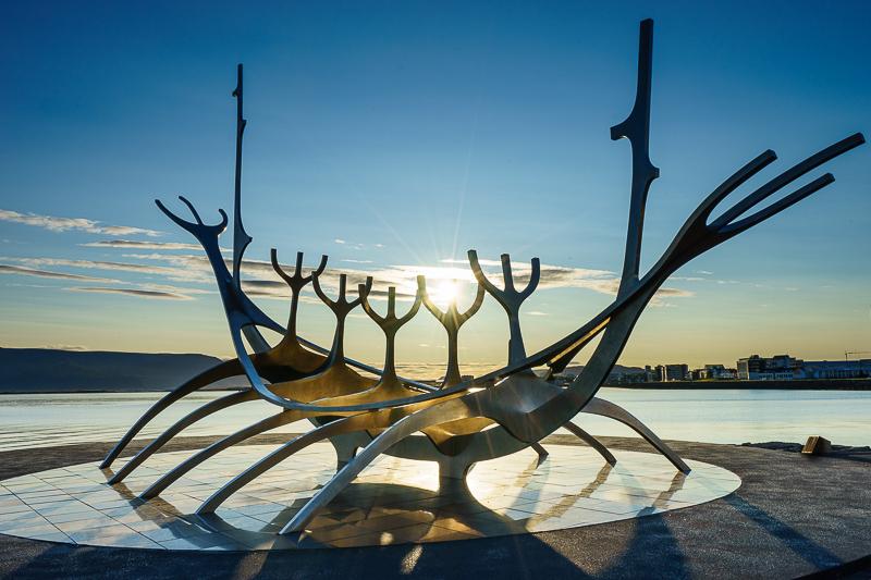 Sólfar - The Sun Voyager in Reykjavík