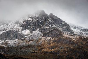 Herbstliche Seenwanderung im schweizerischen Maloja