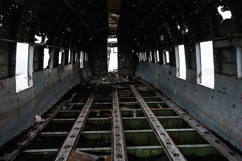 Das Innere der DC-3