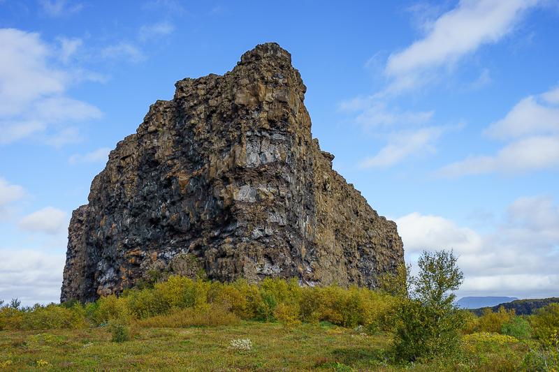 Die Festung von Ásbyrgi
