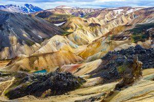 Wanderung in Landmannalaugar auf Island