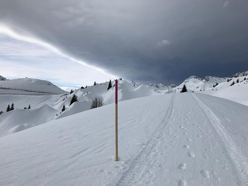 Winterwanderweg zur Kriegeralpe