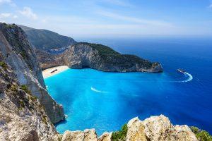 Die griechische Insel Zakynthos im Mai