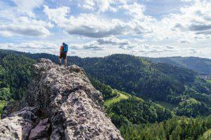 Wanderung am Karlsruher Grat im Schwarzwald