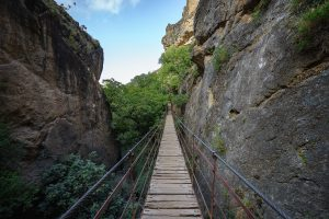 Los Cahorros  Schluchtwanderung in der Sierra Nevada in Andalusien